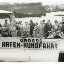 Hafenrundfahrt Hamburg 04.06.1956